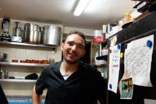 Arnaud en cuisine