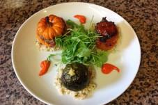 Trio de légumes farcis, Restaurant au Four Saint Louis, Carcassonne